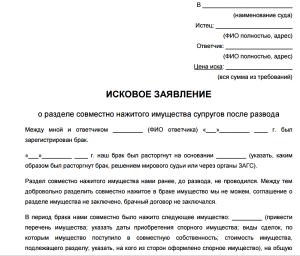 Obrazets-zayavleniya-o-razvode-i-razdele-mashiny-1