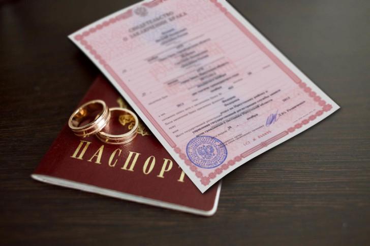 Замена свидетельства о браке