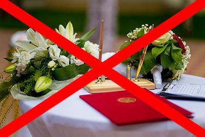 Как забрать заявление из ЗАГСа? Если свадьба отменяется или переносится -